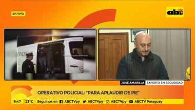 """""""Debemos potenciar a la Policía Nacional"""", según experto en seguridad"""