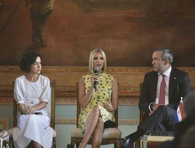 Ivanka Trump resalta apoyo a las emprendedoras paraguayas