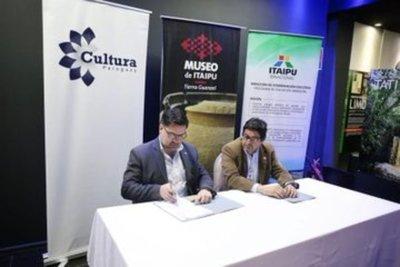 Suscriben acuerdo para proteger patrimonio cultural del Paraguay