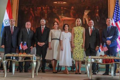 Asesora del Presidente Ivanka Trump reafirma el compromiso de los Estados Unidos y de Paraguay para avanzar en el empoderamiento económico de la mujer
