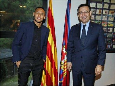 "Bartomeu: ""Hicimos todo lo posible para fichar a Neymar"""