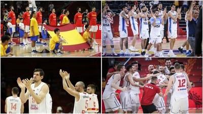 Argentina, Polonia, Serbia triunfan en jornada de segunda fase del Mundial de Basket