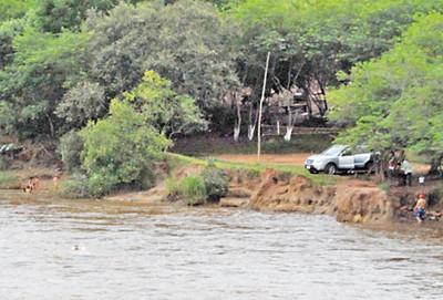 Encuentran cuerpo sin vida a orillas del río Monda'y