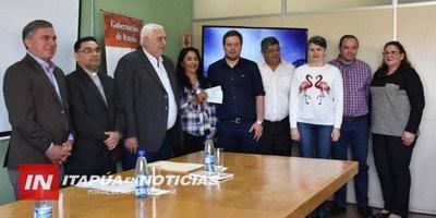 GOBERNACIÓN ENTREGA DE APORTES A INSTITUCIONES Y ORGANIZACIONES