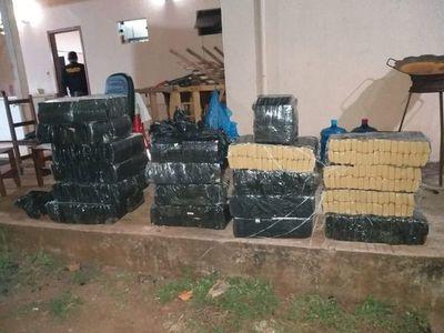 Cae cargamento de casi 400 kilos de marihuana en la frontera