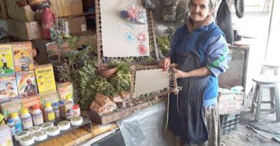 Entre los yuyos y el arte  del ñandutí forjó su vida