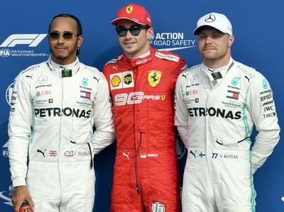 La pole del GP de Italia es para Charles Leclerc
