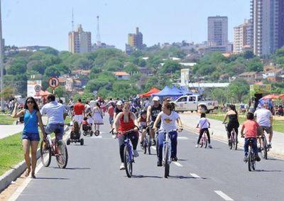 Dan a conocer itinerarios de bicisendas en Área Metropolitana de Asunción