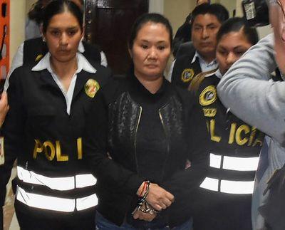 Keiko Fujimori presenta problemas coronarios en cárcel de Perú
