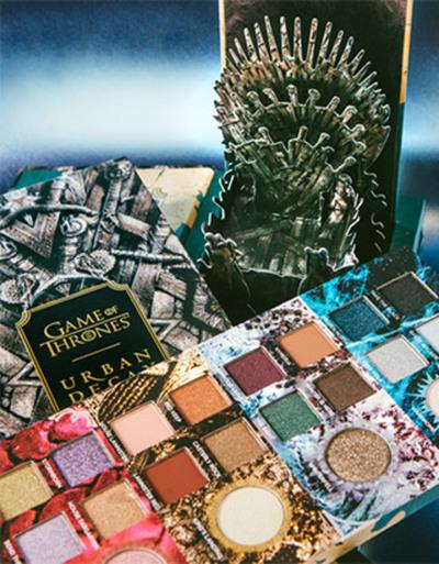 La fiebre de Game of Thrones en todos lados: lanzan línea de maquillaje
