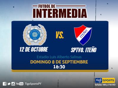 12 de Octubre se mide a Iteño en Itauguá