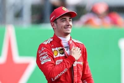 Leclerc pone fin a la sequía de Ferrari