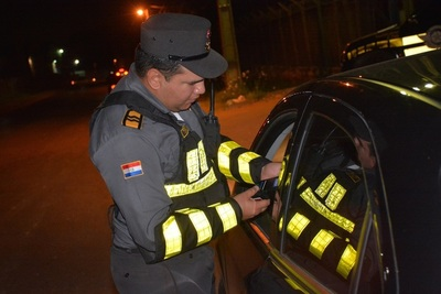 Caminera demora a 319 conductores alcoholizados