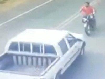 Motociclista fallece tras accidente en Areguá