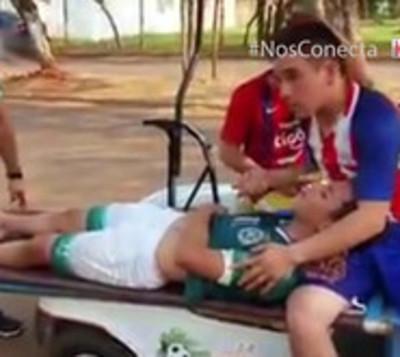 Denuncian brutal agresión contra menor durante partido de fútbol
