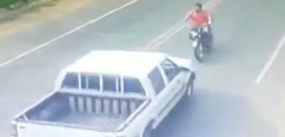 Captan fatal choque frontal de motociclista