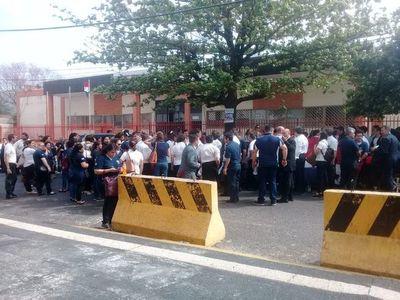 Corte pidió informes sobre protesta de funcionarios judiciales