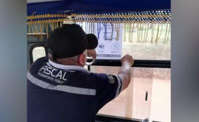 Advierten sobre prohibiciones a choferes de colectivos en CDE