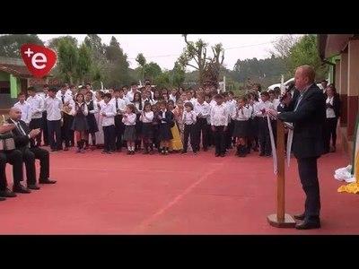 INAUGURAN AULAS EN CENTRO EDUCATIVO DE CAMPICHUELO