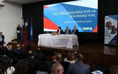Conforman en Asunción Red Parlamentaria por la seguridad vial