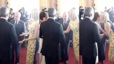 """HOY / Protocolo para Ivanka definió  Abdo: """"El Presidente decidió saludarla con besos"""""""