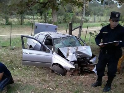 Joven que chocó el sábado en Pirayú falleció esta madrugada