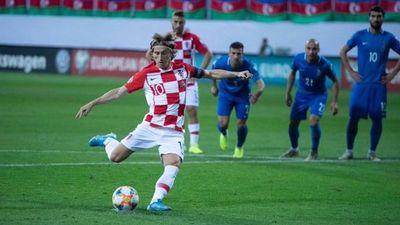 Croacia pincha en Azerbaiyán