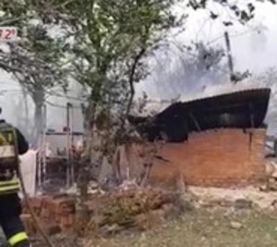 Incendios ponen en peligro a Reserva del Ybyturuzú