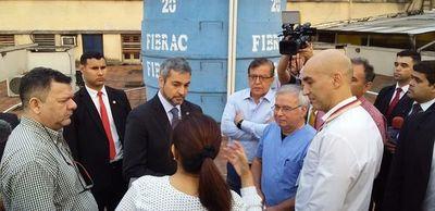 Abdo hace visita al Hospital del Trauma y promete más inversión