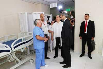 Abdo Benítez anuncia más inversiones en el Hospital de Trauma tras visita sorpresa