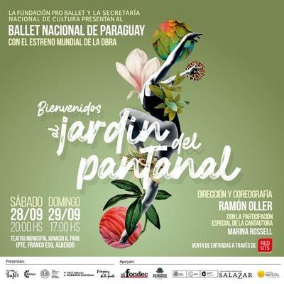 """El Ballet Nacional del Paraguay presentará """"Bienvenidos al Jardín del Pantanal"""""""