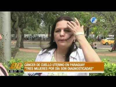 """Cáncer de cuello uterino en Paraguay: """"Tres mujeres por día son diagnosticadas"""""""