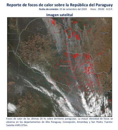 SEN, Ministerio del Ambiente, Infona, Agencia Espacial y organizaciones civiles profundizan cooperación para combatir incendios forestales