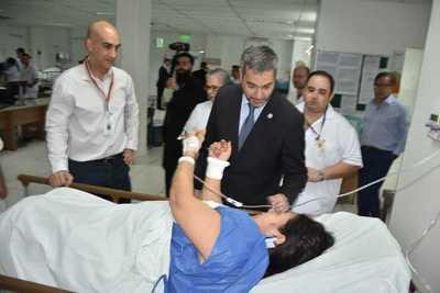 Gobierno invertirá casi USD 1 millón en Hospital del Trauma