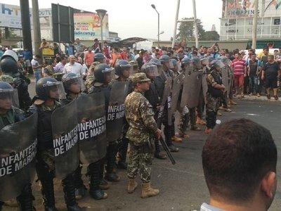 Suman 12 los aprehendidos por incidentes en Ciudad del Este