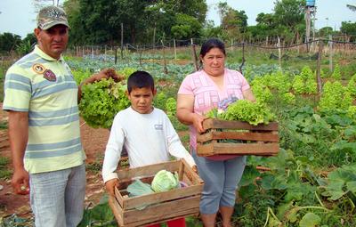 Fomento a la agricultura familiar campesina e indígena mediante programas e inversiones del MAG