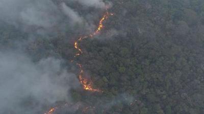 Miedo, pocos recursos e incendios incontrolables en el Chaco