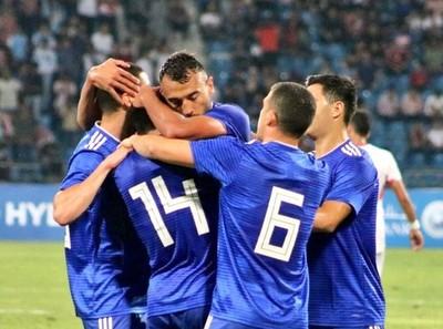 Estrenos de gol en el triunfo ante Jordania