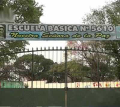 Roban por quinta vez humilde escuela de San Lorenzo