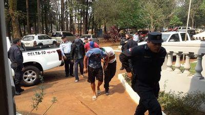 CDE: Fiscalía imputa a seis paseros tras incidentes de ayer