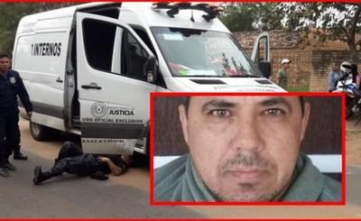 "Jefe narco ""rescatado"" durante emboscada a comitiva penitenciaria"