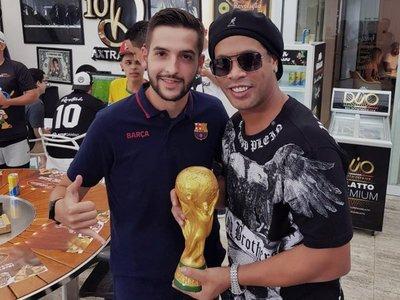 Ronaldinho jugará un partido de exhibición en Colombia
