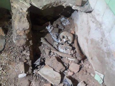 Buscarán más restos óseos en casa de Stroessner