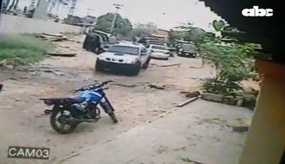 Tras ataque y rescate de narco huyeron en cuatro camionetas