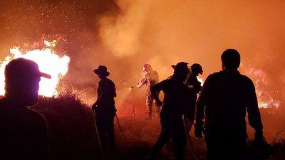 Un Chaco que agoniza entre llamas y cenizas