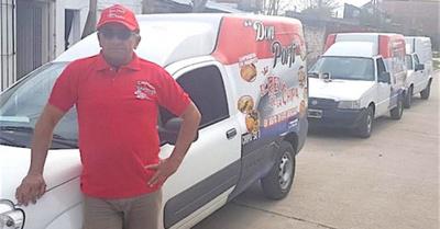 """El paraguayo que es el  """"Rey de la chipa"""" ashá"""