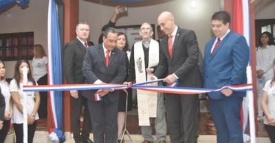 Inauguran centro de especialidades pyahu