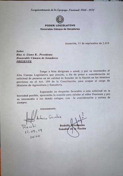 Rodolfo Friedmann será ministro de agricultura