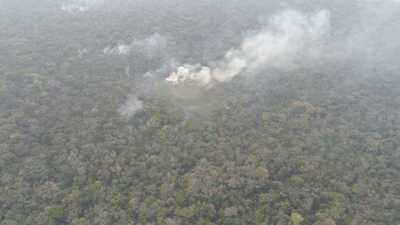 SEN administra operaciones para sofocar incendios en San Pedro y Canindeyú