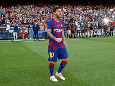 Messi se siente como en su casa en Barcelona